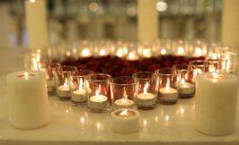 شمع ارایی باغ تالار دارایی