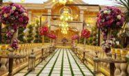 فضای باز و چیدمان باغ عمارت یاسین