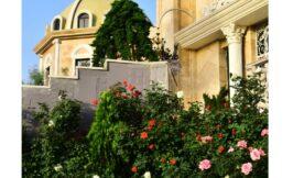 گلآرایی باغ تالار فاخر
