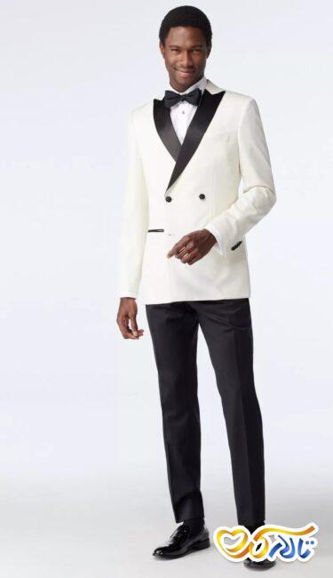 کت سفید برای داماد