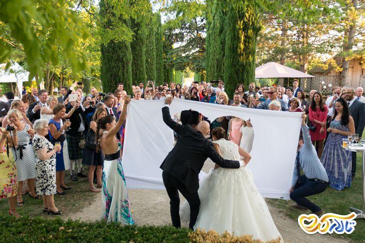 آداب و رسوم عروسی در فرانسه : ربان سفید