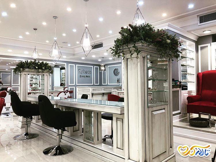 آرایشگاه عروس سالن زیبایی عروس