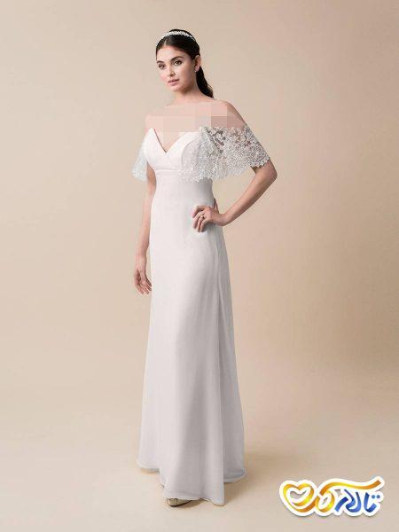 لباس عروس دکولته