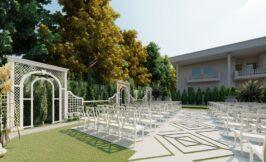 سالن عقد فضای باز