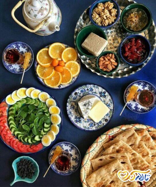 صبحانه فردای روز عروسی