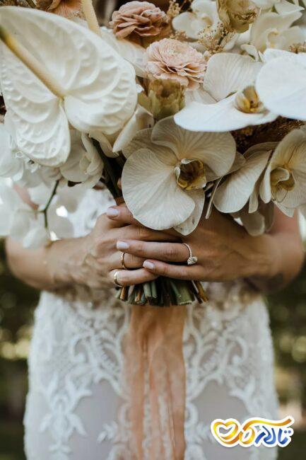 ایده برای دسته گل عروسی