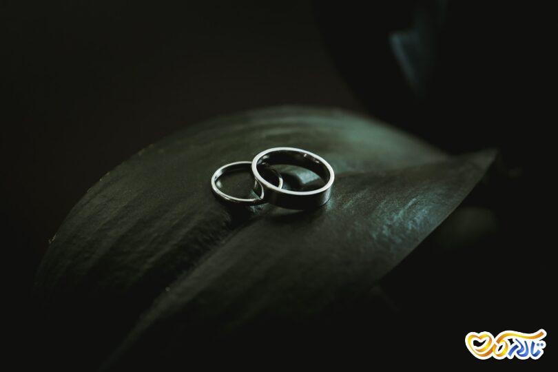 حلقه ازدواج در عکاسی فرمالیته عروسی