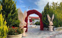 باغ تالار آریانا فیروز بهرام