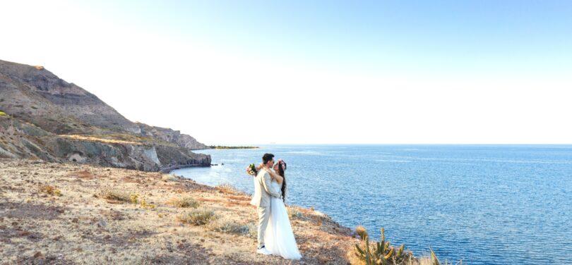 لوکیشن دریا برای عکاسی عروسی