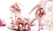 کفش عروس طرح دار