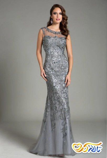 مدل لباس بلند مادر عروس مادر داماد