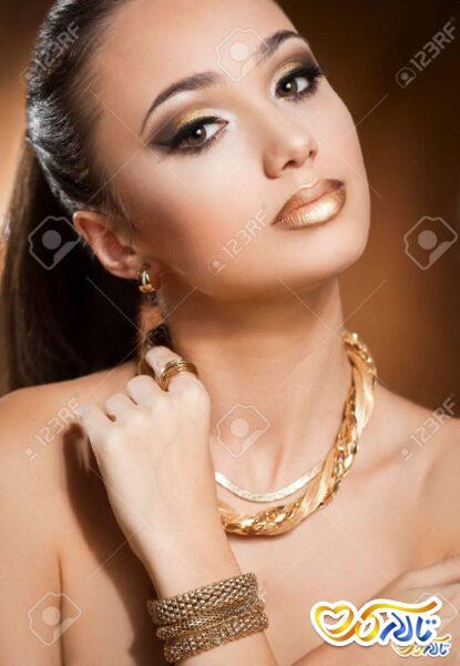 برق ا نداختن طلا جواهر برلیان