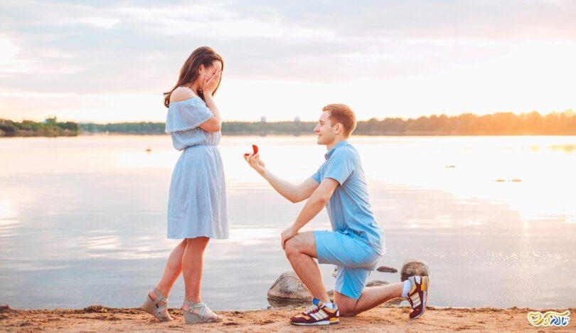 ایده برای خواستگاری :خواستگاری در هنگام عکس های دو نفره