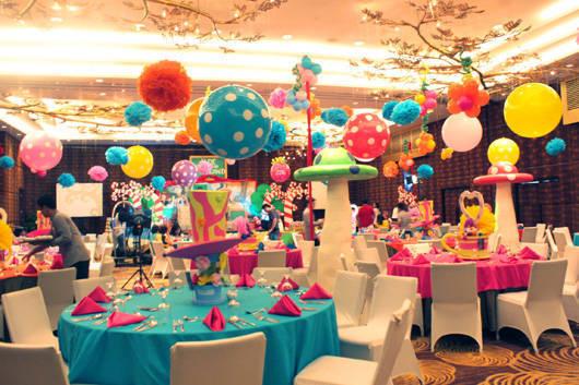 جشن تولد در تالار کم ظرفیت
