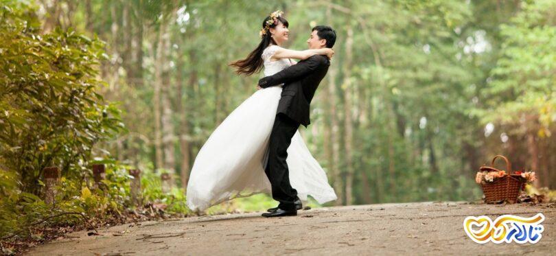 کلاس های رقص عروس و داماد