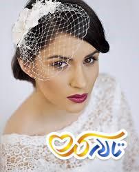 تور عروس کوتاه شینیون