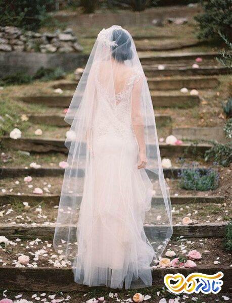 تور عروس بلند شینیون