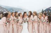 مدل لباس ساقدوش عروس برای مراسم عروسی زمستانی