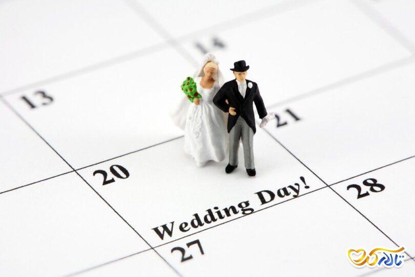 تاریخ عروسی خرید لباس عروسی