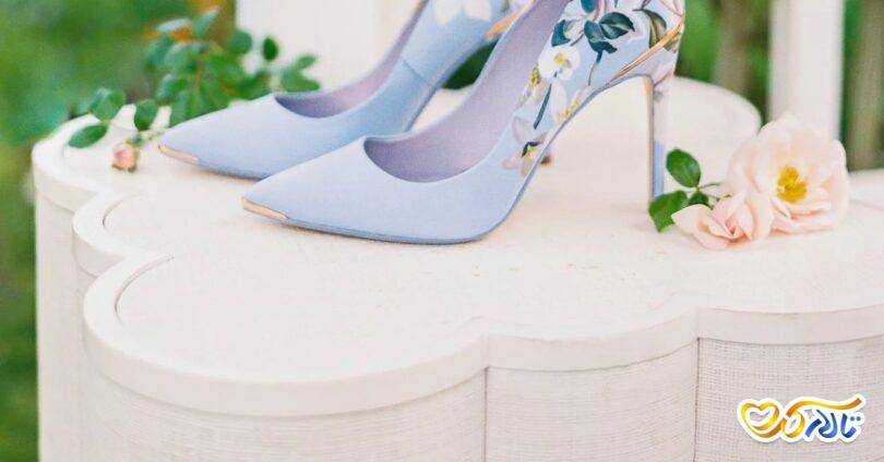 کفش مناسب لباس عروس