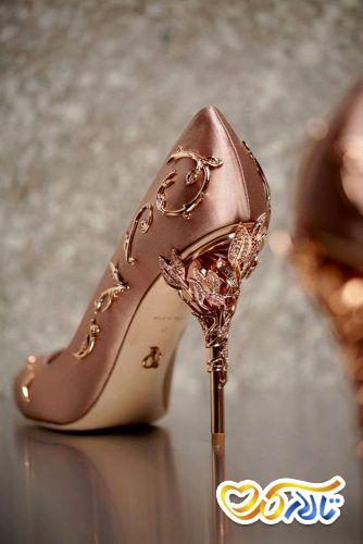 کفش عروس لاکچری