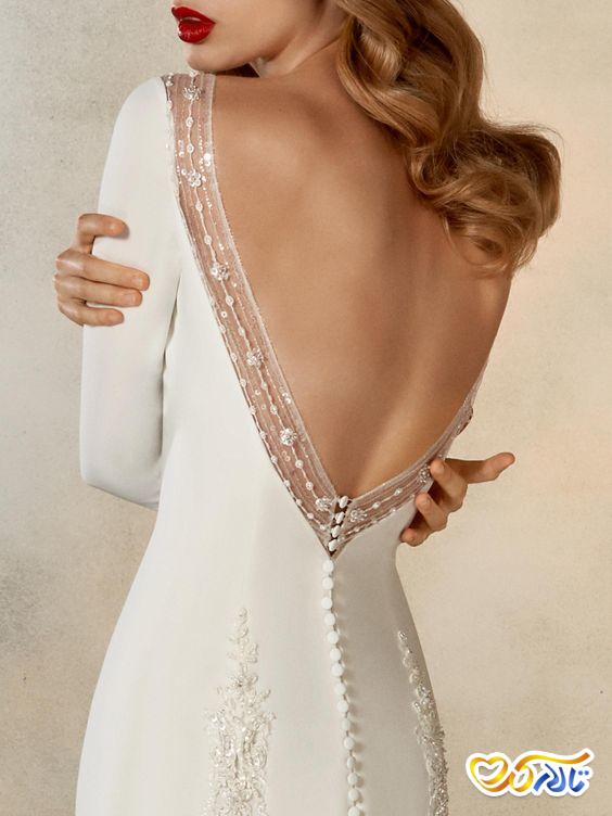 لباس عروس به سبک مینیمالیست