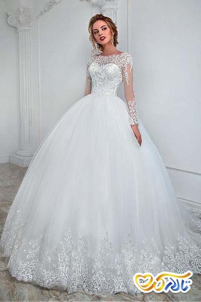 لباس عروس سلطنتی و پرنسی
