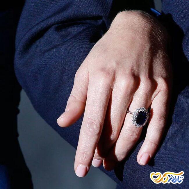 حلقه عروسی کیت میدلتون