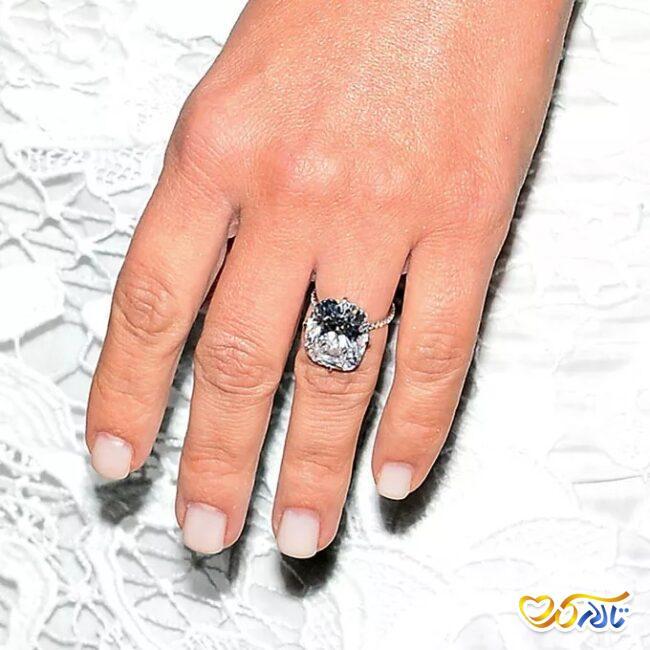 حلقه عروسی کیم کارداشیان