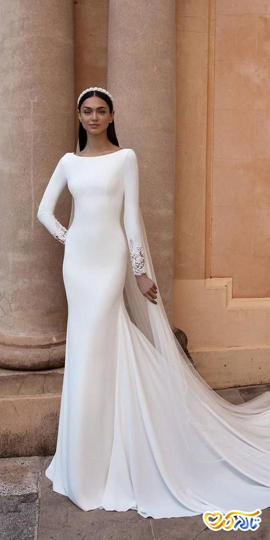 لباس عروس مینیمالیست