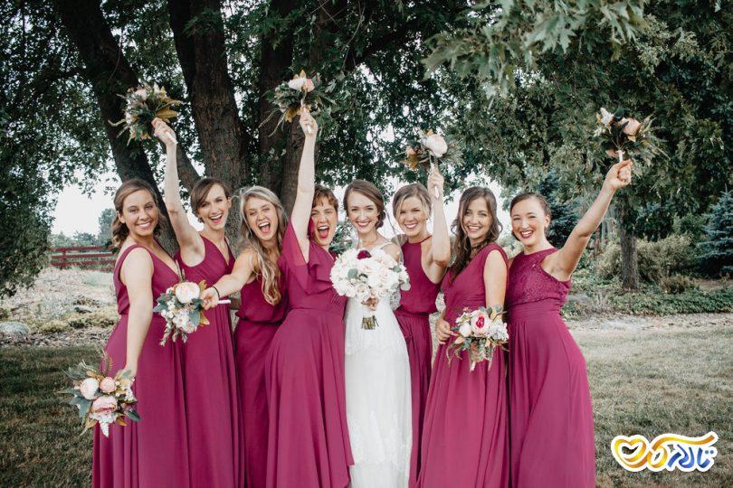 رقص عروس و ساقدوش ها