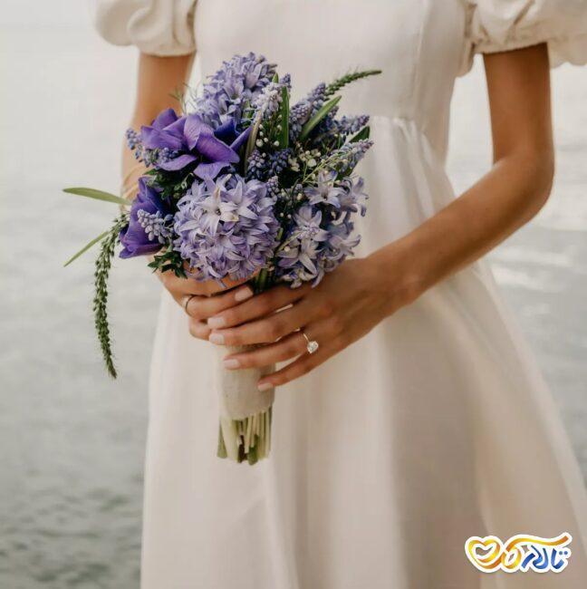 سنبل ایرانی در دسته گل عروس