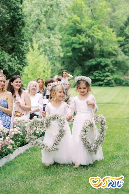 مفهوم گل های عروسی