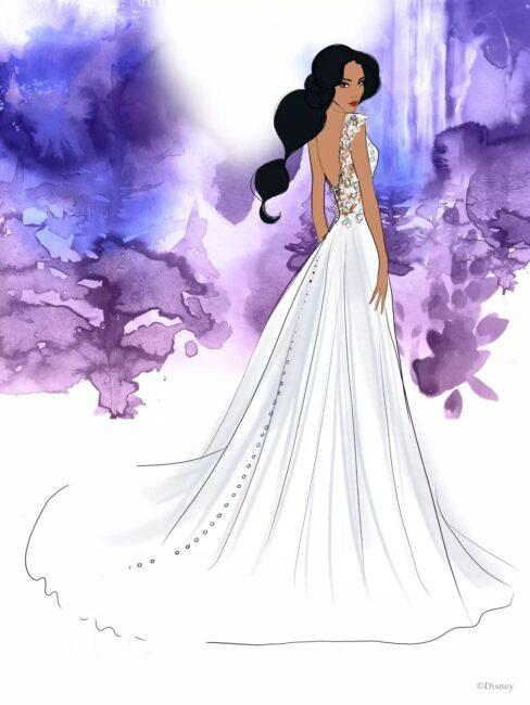 لباس عروس جزمین