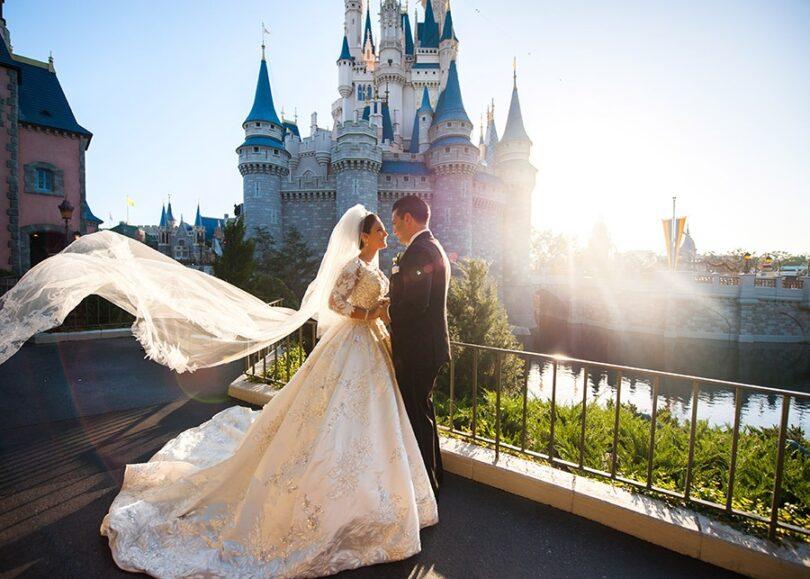 لباس عروس های دیزنی
