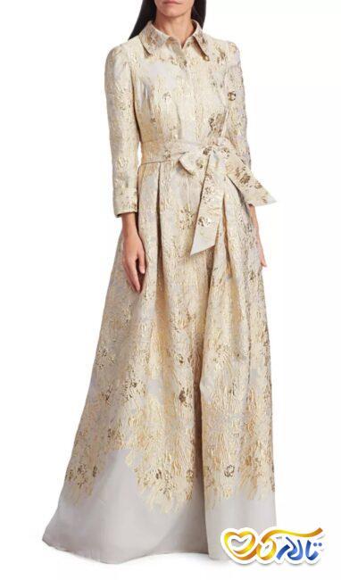 لباس مجلسی شیک و زیبا مناسب مادر داماد