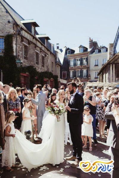 آداب و رسوم عروسی در فرانسه : دختران کوچک