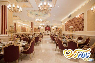 چیدمان و دیزاین تالار امرالد