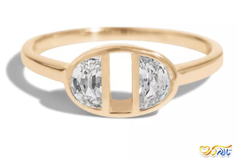 حلقه عروسی با طراحی زیبا ارزان قیمت