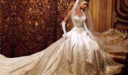 لباس عروس گران قیمت مجلل