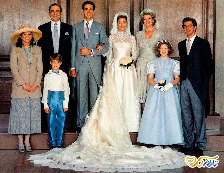 لباس عروس مجلل گران