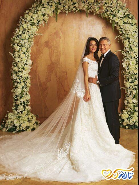 لباس عروس گران امل کرونی