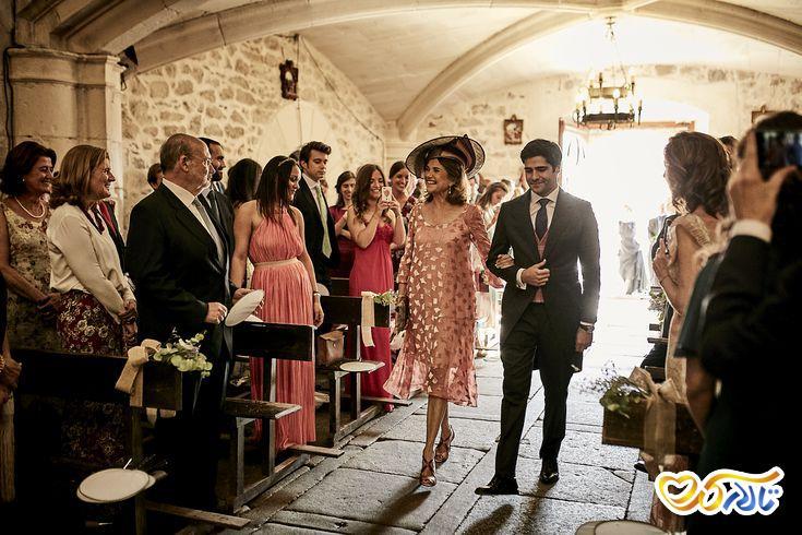 آداب و رسوم عروسی در فرانسه : عبور از راهرو