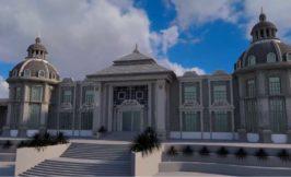 باغ تالار فاخر, عمارت فاخر احمدآباد