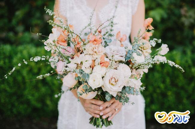 دسته گل رمانتیک