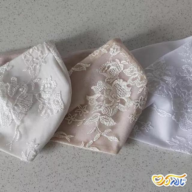 ماسک عروسی توری و کتان