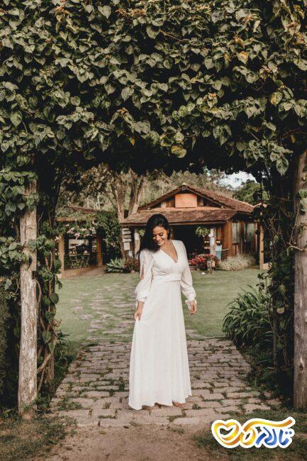 عروسی و عقد در فضای باز