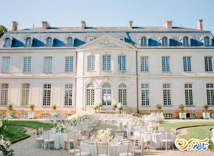 آداب و رسوم عروسی در فرانسه : دکوراسیون