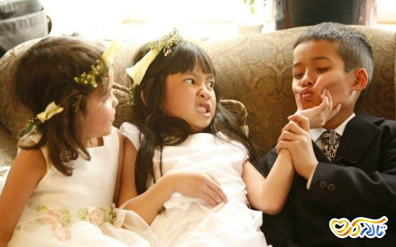 عکس کودکان در عروسی