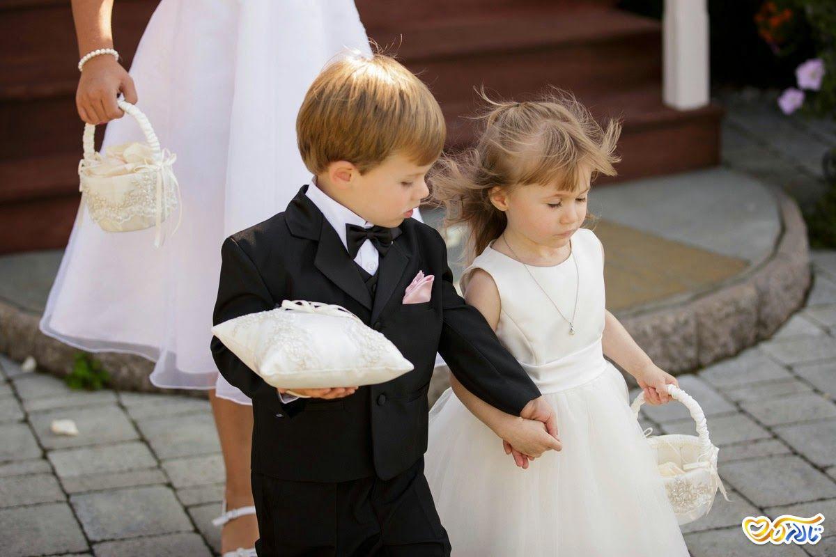 عکس کودک در جشن عروسی